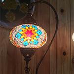 Mosaic lamp shade