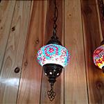 Single hanging lamp