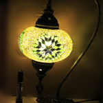 Mosaic lamp shade