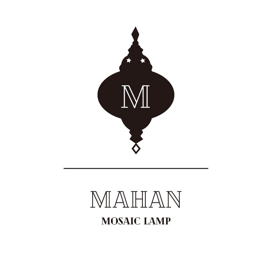 MAHAN-MOSAIC LAMP-